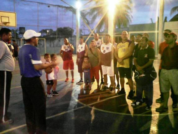 Arrancó Inter calles de baloncesto en la cancha Libertad