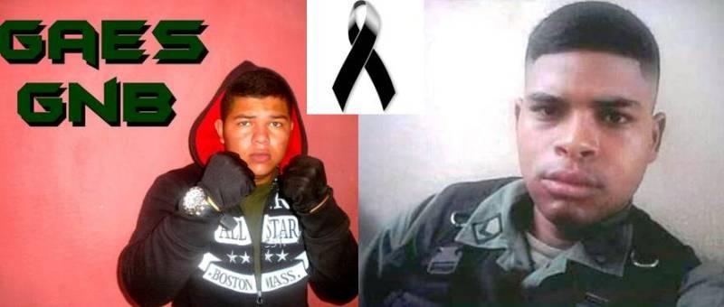 Fallecen dos GNB: las caras opuestas de una tragedia