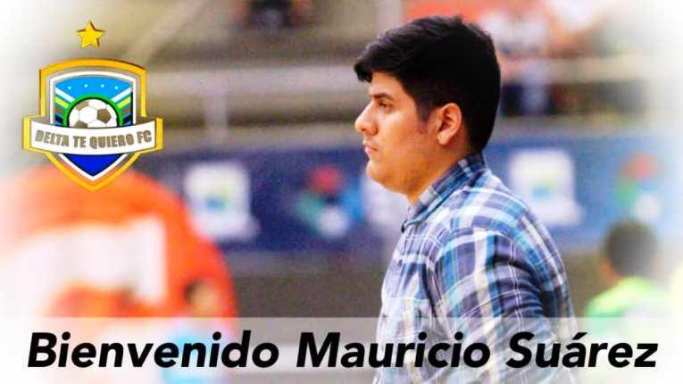 El trujillano Mauricio Suárez es el nuevo técnico de Delta te Quiero en la Liga Givova de futsal