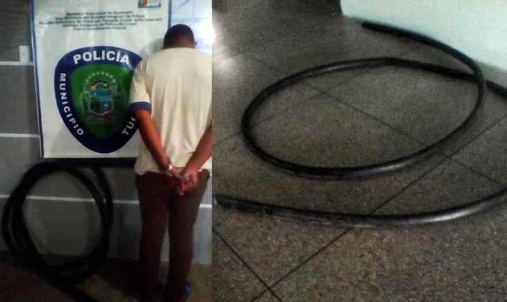 Policía municipal captura a otro posible responsable de la incomunicación en Tucupita