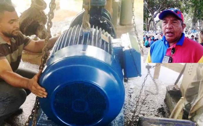 Tomás Barreto: robo de bomba de agua no debe quedar impune