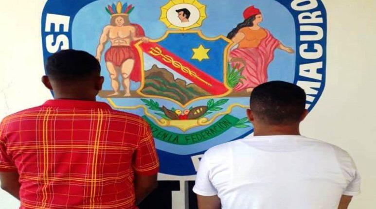 Polidelta detuvo dos militares activos de la FTA Delta Amacuro, solicitados por tribunal