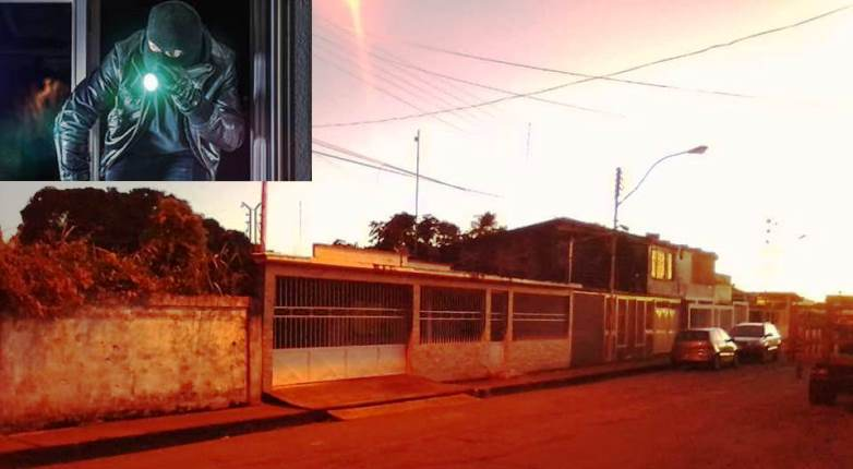 Ladrón sumamente educado roba en casa de calle Amacuro y pide disculpas al salir